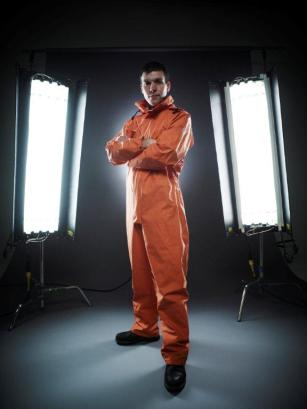 Simon in full dissection gear for Inside Natures Giants
