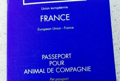Pasaporte Europeo de mascotas