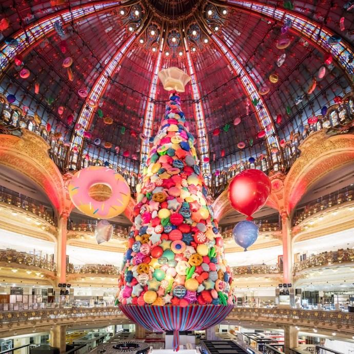 Arbol de Navidad - Galerias Lafayette