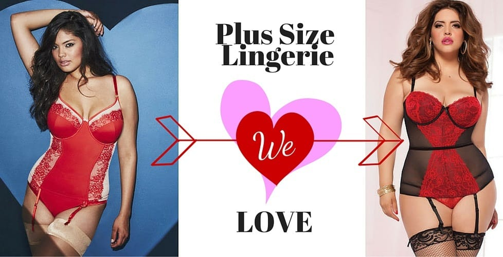 ad42c16b46e Plus Size Lingerie We Love For Valentine s Day - Ready To Stare
