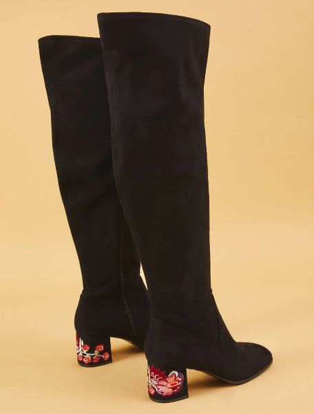 7fa786d26f6 Plus Size Thigh High Wide Calf Boots - Ready To Stare