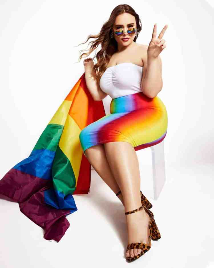 a52852fd5bd Rainbow Plus Size Clothing and Accessories to Wear to Pride - Ready ...