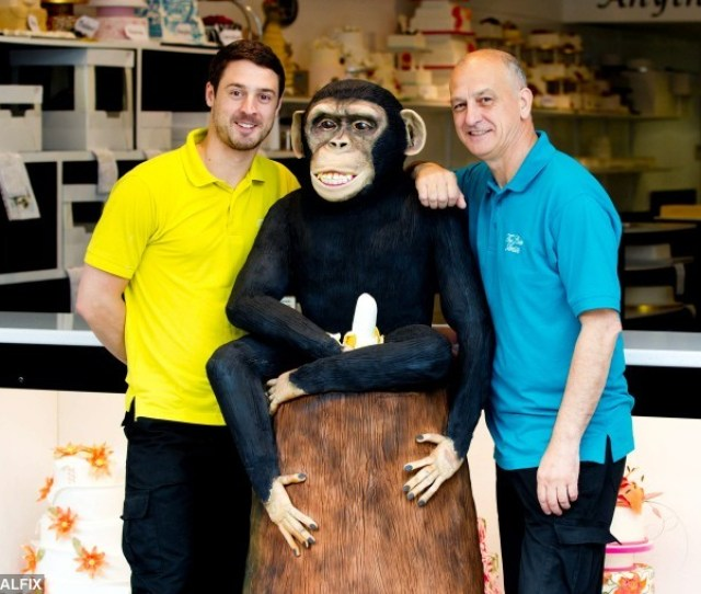 L R Director Dan Dawson  And Store Manager Jonathan Cockerel With The