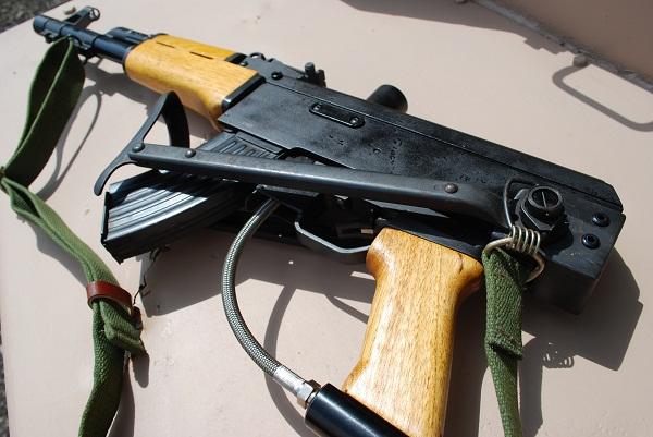 AK47 Folding Stock Paintball Gun Paintball Guns Real