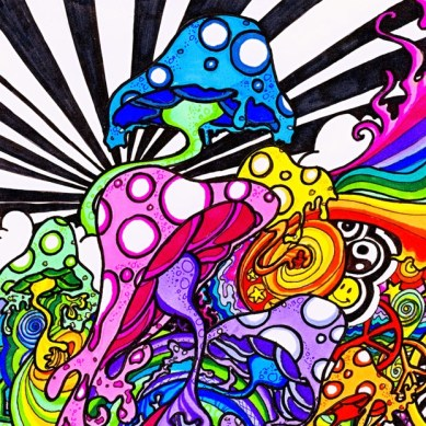 Psychedelic-color