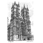Westminster Abbey by Stephen Wiltshire