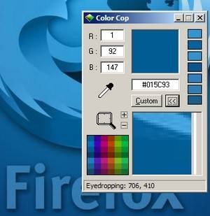 Color Cop - free software to help you choose a colour scheme