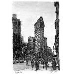 The Flat Iron Building, New York, by Stephen Wiltshire
