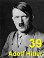 Adolf Hitler - dramatic and evil character for your memory list