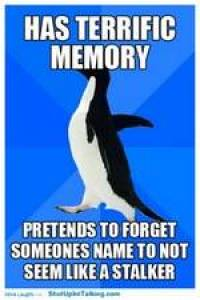If you have a great memory, maybe you don't need memory improvement tips for names!