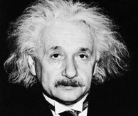 Albert Einstein, physics genius, learned that overcoming dyslexia would help him in his work