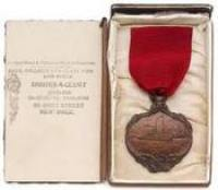 Medal awarded to the Captain and crew of RMS Carpathia