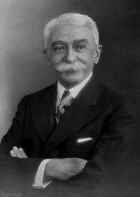 Baron Pierre de Coubertin, who inspired the Olympic Games of modern times