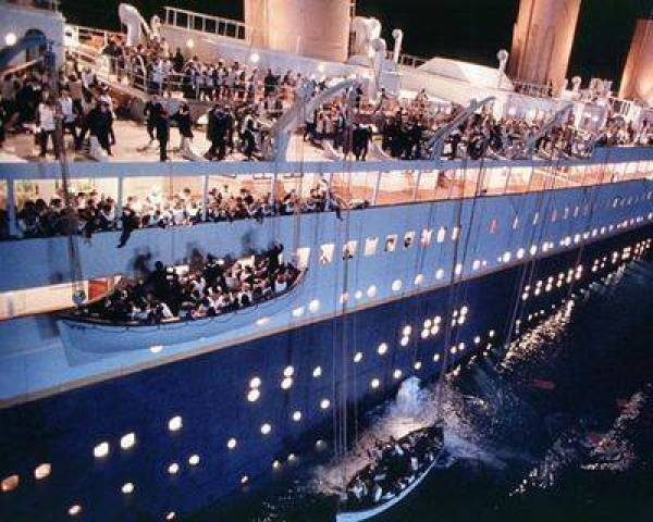 Titanic, the James Cameron movie of 1997 retold the Titanic story yet again