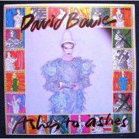 DAVID BOWIE Ashes To Ashes Pochette Album