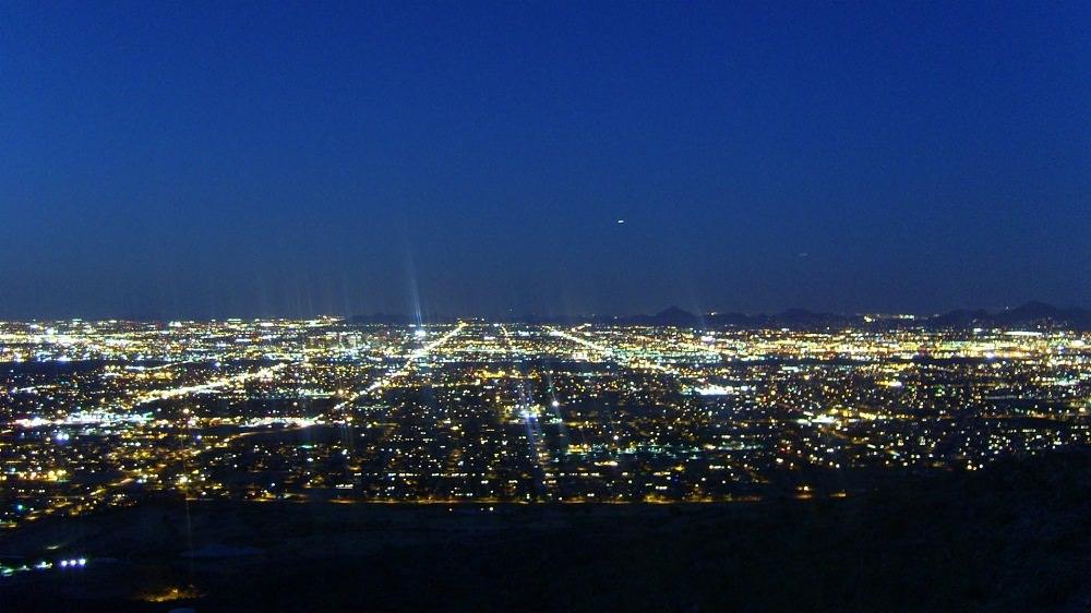 Phoenix Arizona Night