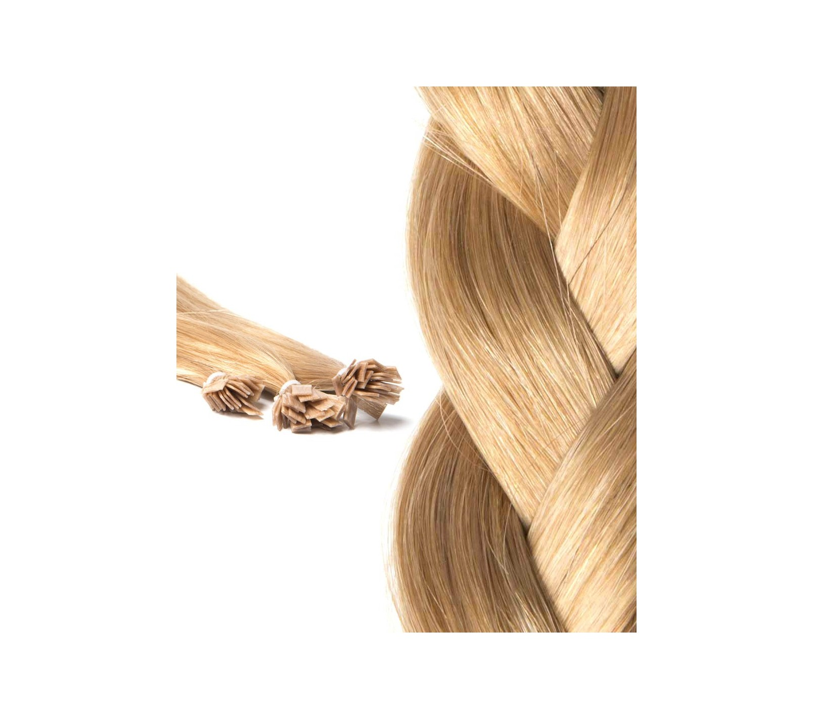 PreBonded Hair Extensions Affordable Russian Hair Keratin