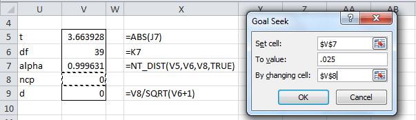 t ncp Goal Seek