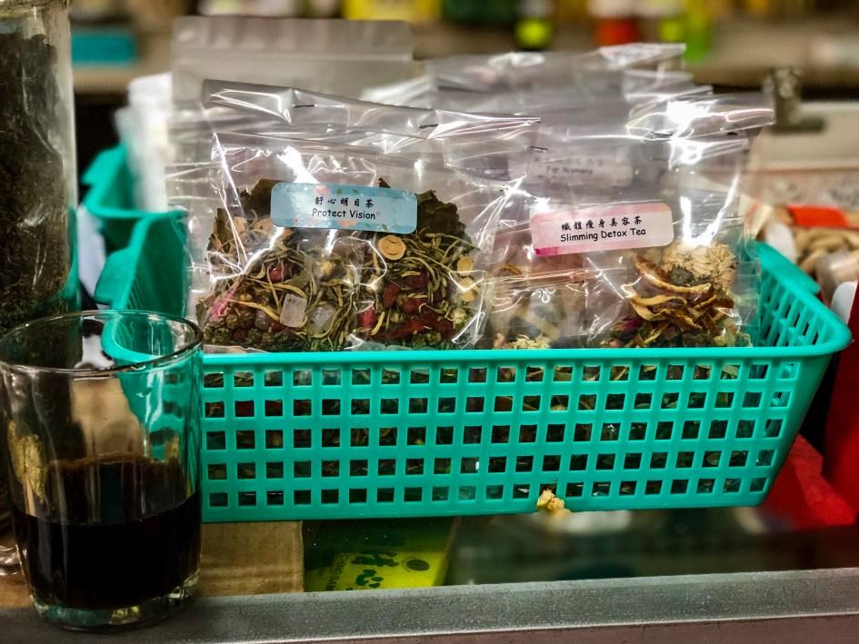 Medicinal tea shopping Malacca itinerary
