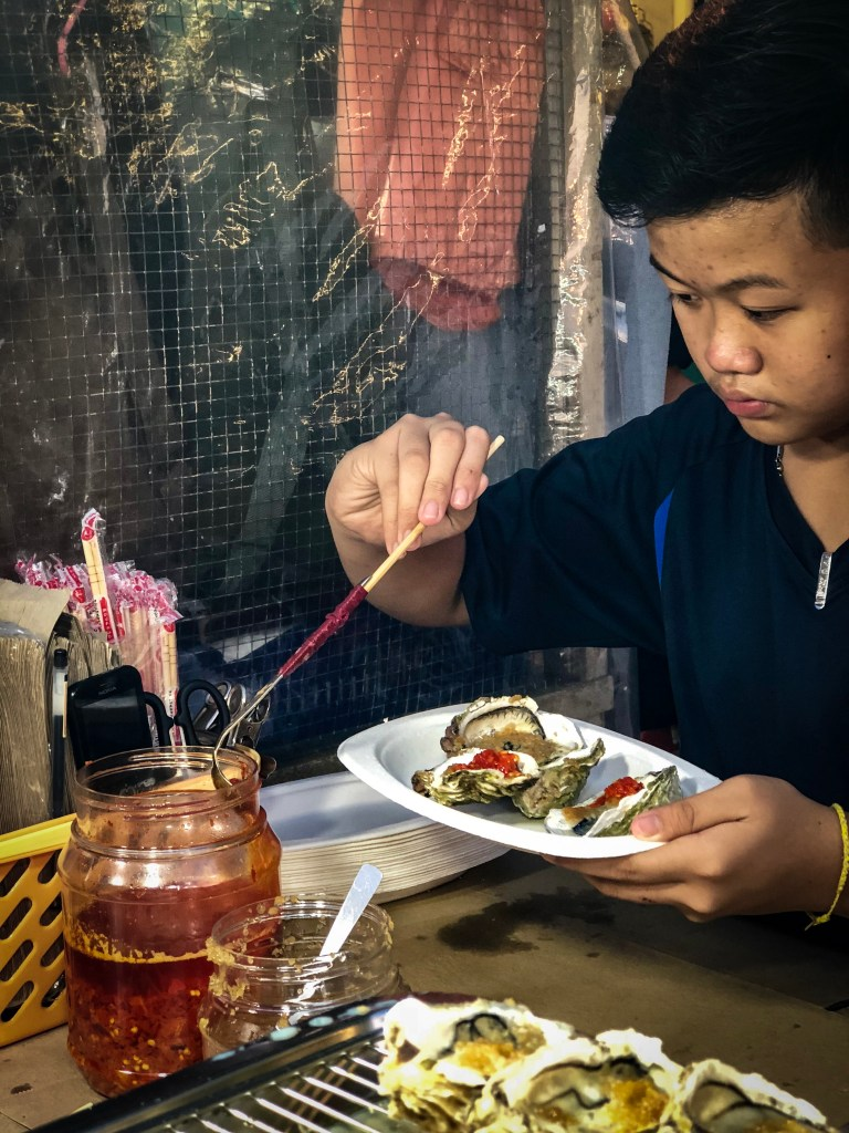 Street food Malacca itinerary