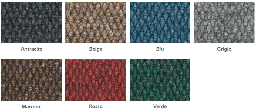 Nuovo materiale per i tuoi tappeti personalizzati