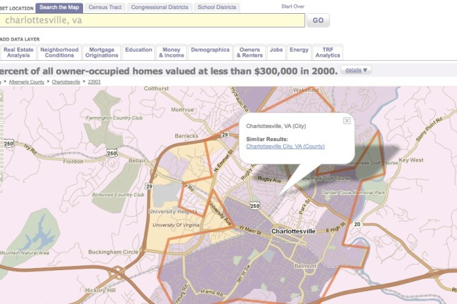 Policy Maps for today's real estate consumer