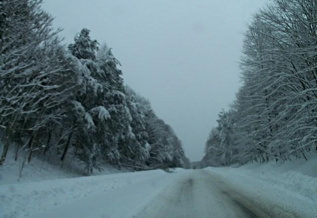 Snow in Charlottesville