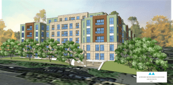 Development off High Street in Downtown Charlottesville, Courtesy Charlottesville Tomorrow