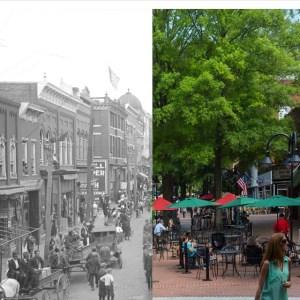 Charlottesville Then & Now | Virginia Magazine