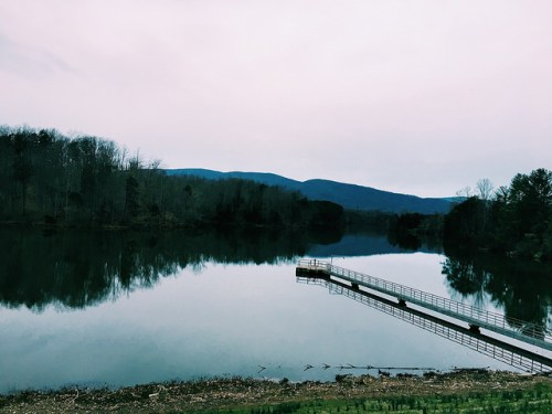 Still waters at Beaver Creek in Crozet