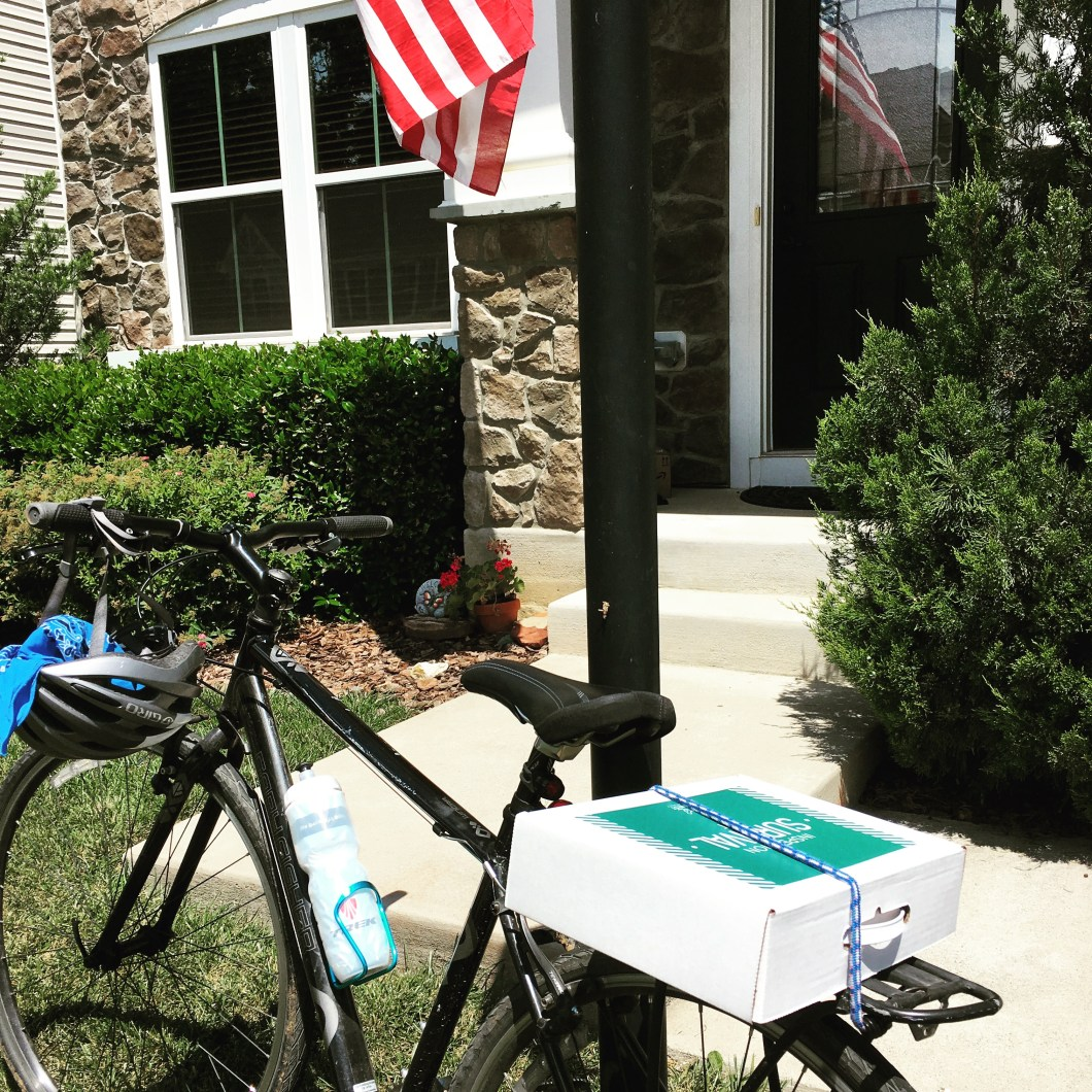Biking to Home inspections in Crozet