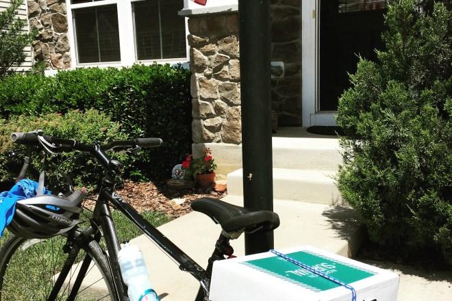 Biking to Home inspections in Crozet