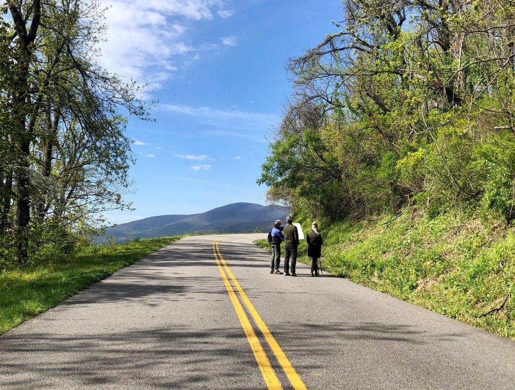 Blue Ridge Parkway overrun by pedestrians