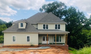 New construction in Foxchase Landing; lot 14