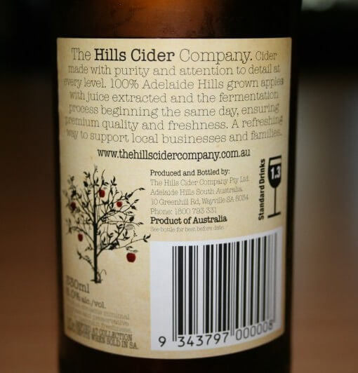 Hills Cider - Apple Cider