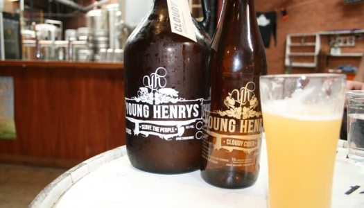 Young Henry's Cloudy Cider