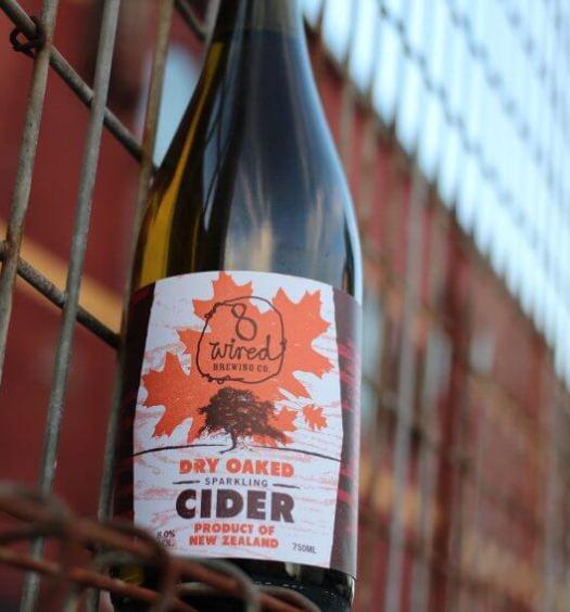 Dry Oaked Sparkling Cider