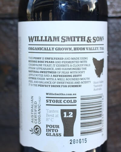 Willie Smiths Organic Perry review