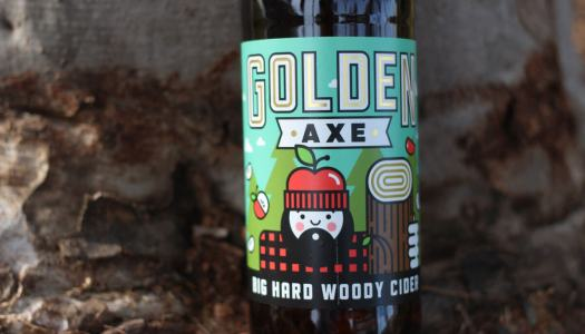 Golden Axe Big Hard Woody Cider