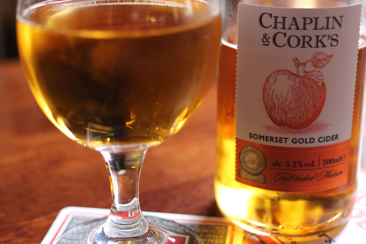 Chaplin & Corks Somerset Gold Cider