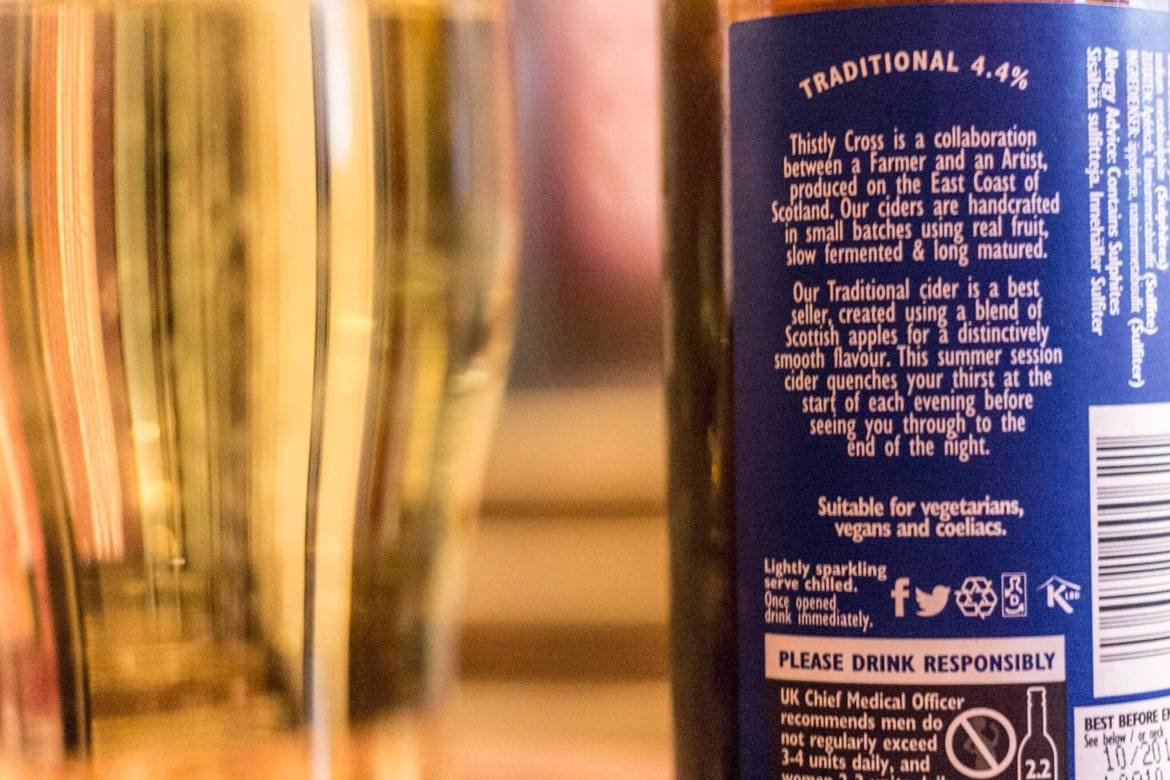 Thistly Cross Traditional Cider review