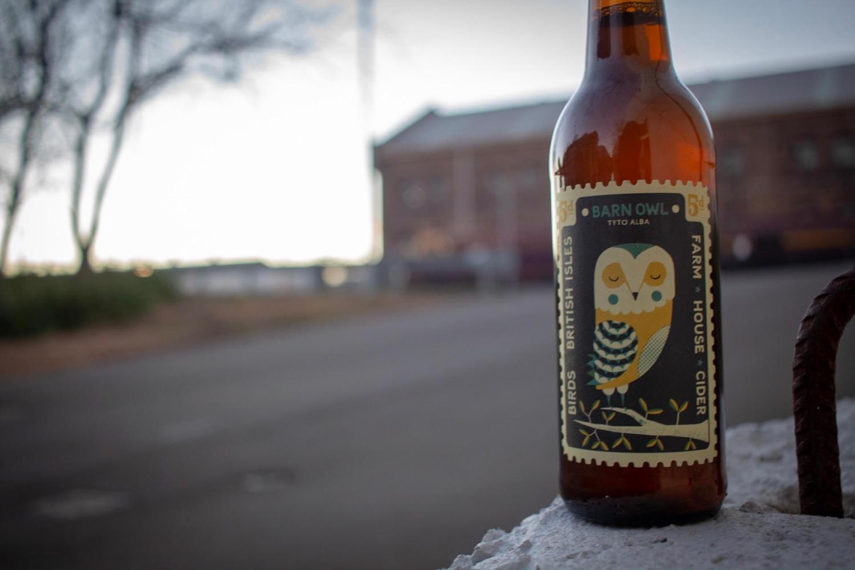 Perry's Barn Owl Farm House Cider