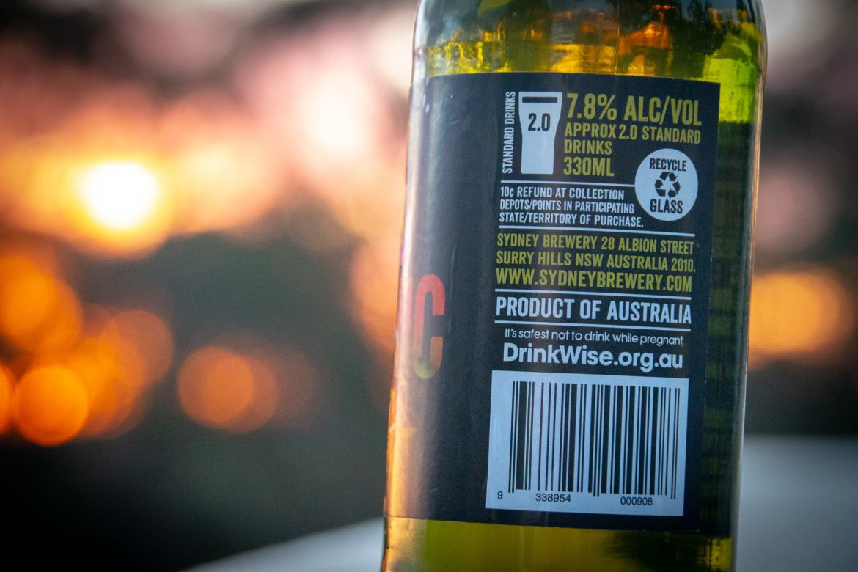 Sydney Brewery Organic Oaked Cider taste test