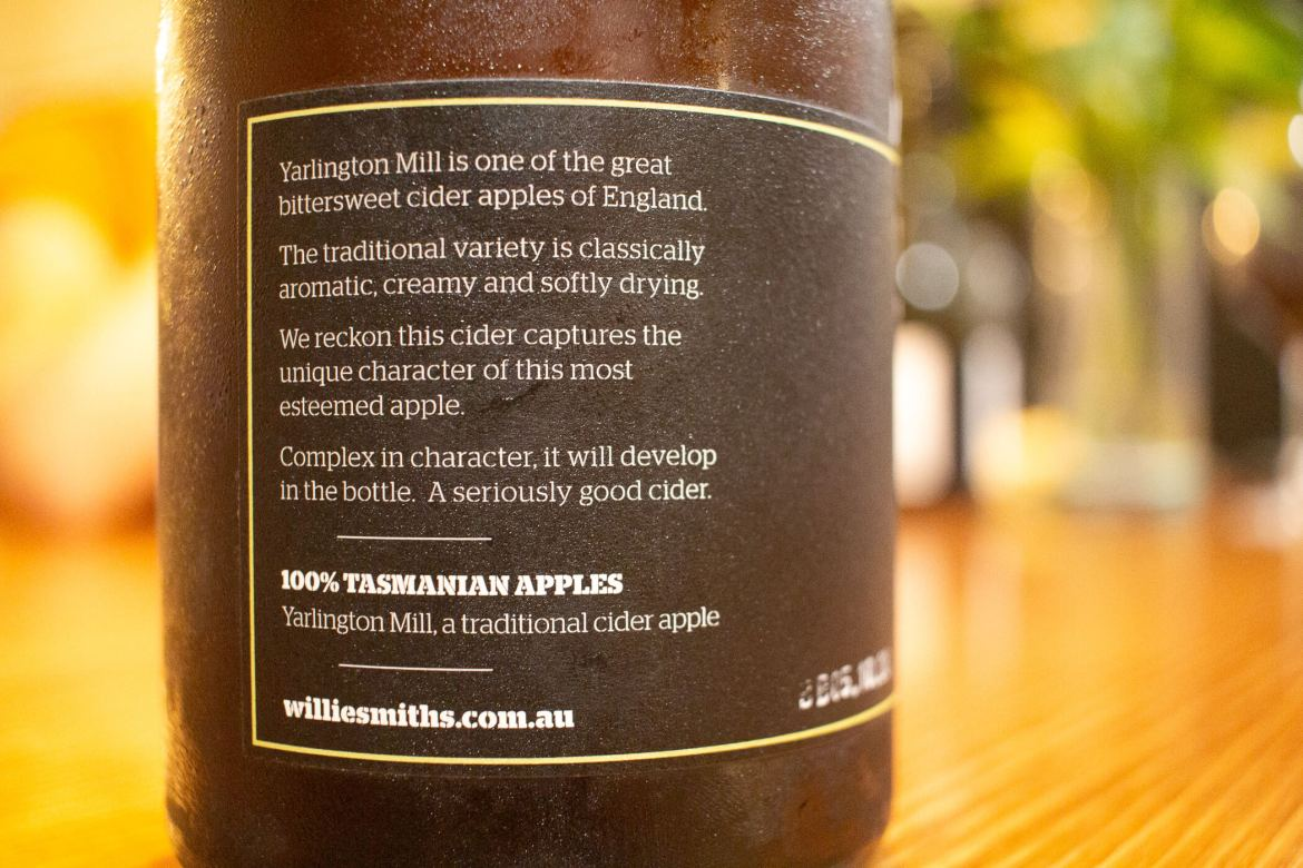 Willie Smiths Yarlington Mill 2018 cider review