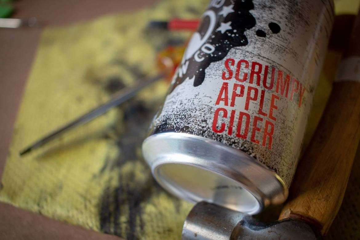 Monkey Shines Brew Co Scrumpy Apple Cider Review