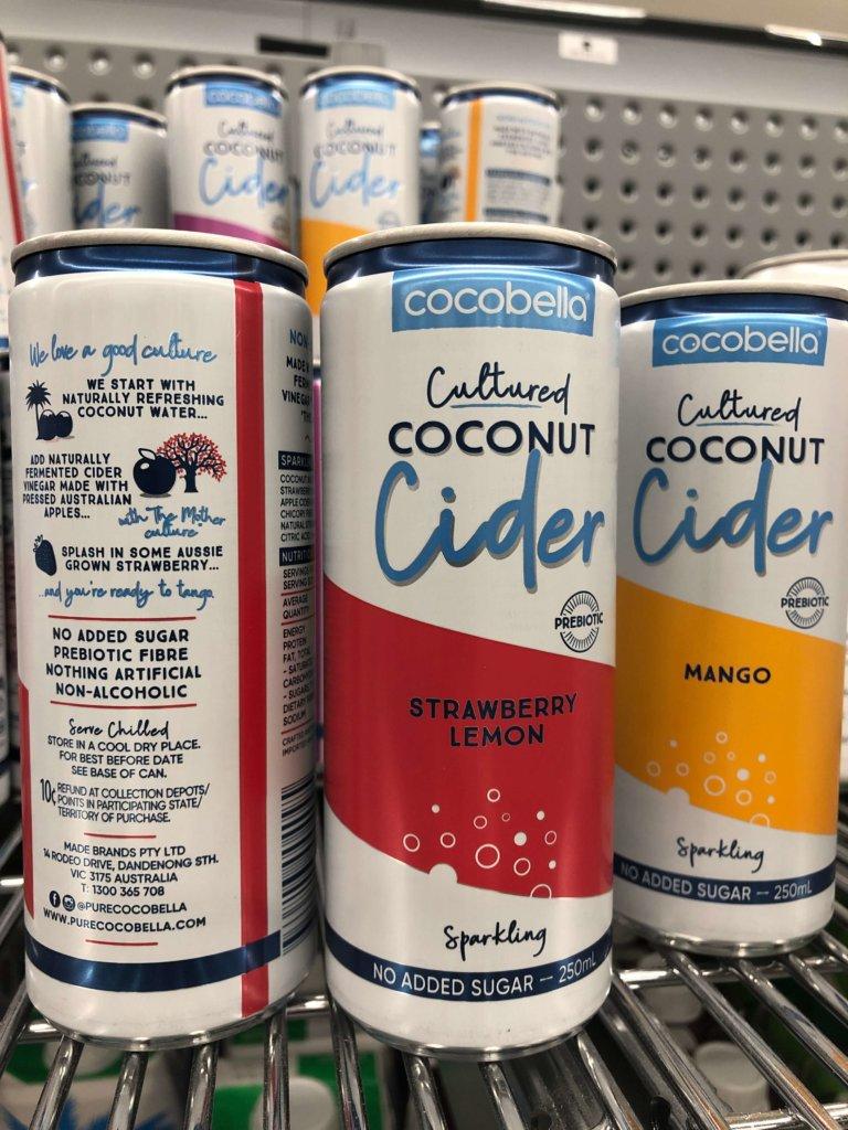 Cocobella Coconut cider thts not cider