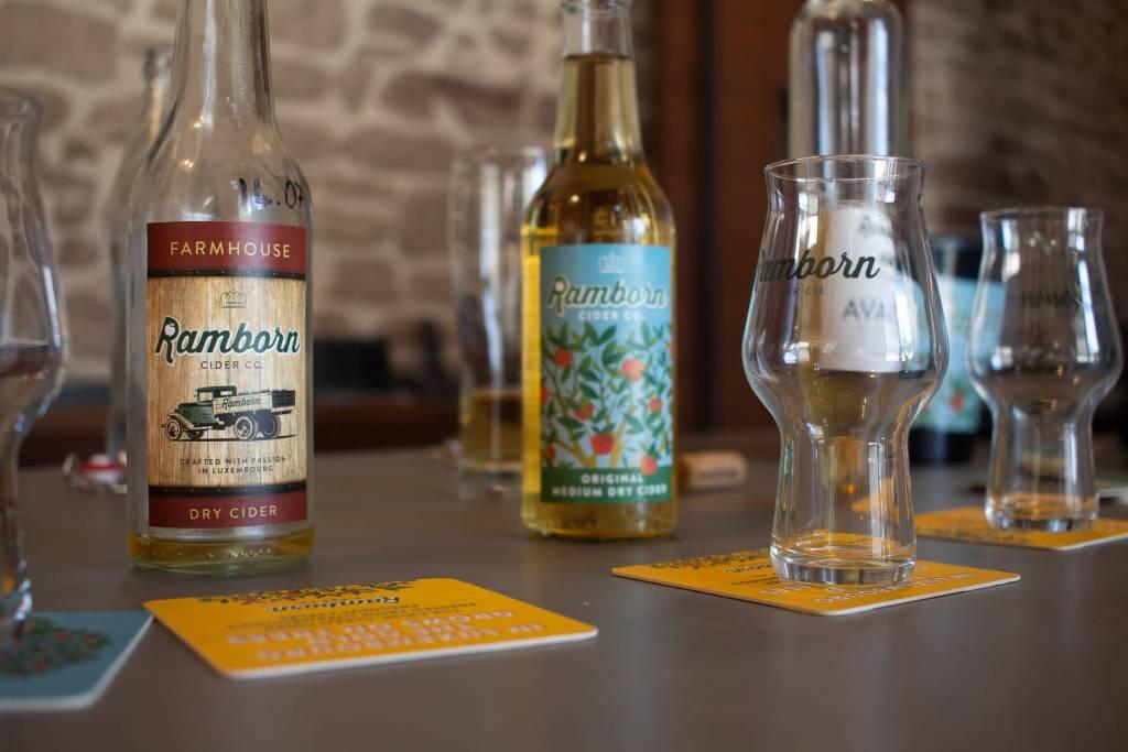 Ramborn Cider tasting session