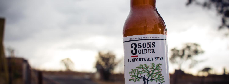 3 Sons Comfortably Numb Cider
