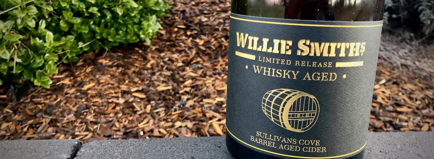 Willie Smiths Whisky Barrel Aged Cider