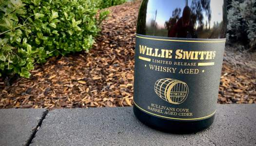 Willie Smith Sullivan Cove Whisky Barrel Aged Cider 2019